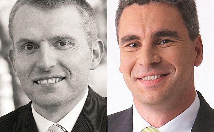 Peter Klenk (l.) und Axel Sarnitz: Die Autoren sehen die Preisgestaltung im Private Banking als bei Weitem größten Hebel, um die Profitabilität des Geschäftsfelds zu steigern.
