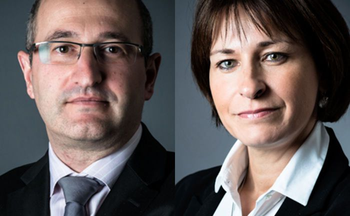 Stéphane Soussan (l.) und Anne Le Borgne: Die beiden Portfoliomanager investieren beim neuen CPR Invest – Food for Generations auf das Investment-Thema Ernährung. | © CPR Asset Management