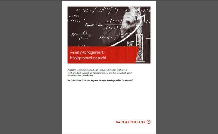 "Bain-Studie: ""Fondsanbieter sollten nicht in Fatalismus verfallen""|© Bain & Company"