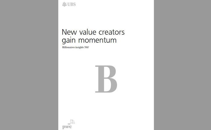 Der Billionaire Report 2017 der Schweizer Großbank UBS und der Beratungsgesellschaft PWC gewährt Einblicke in die Welt der Milliardäre.