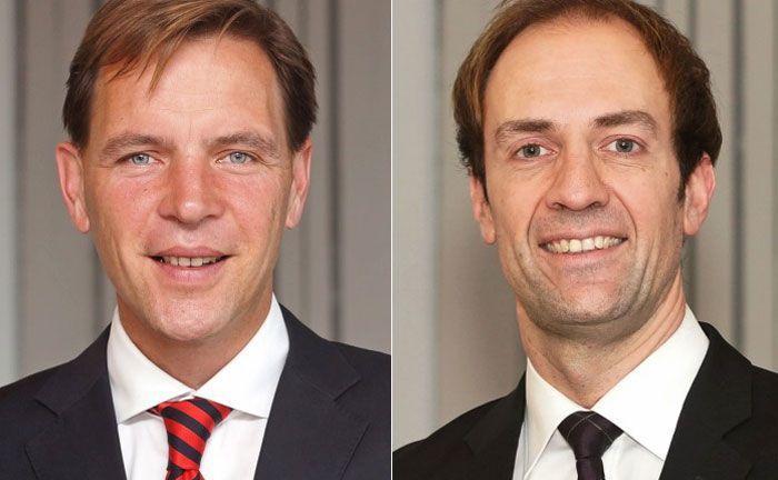 Detlev Heinsius (l.) und Christian Matern von Ebner Stolz: Auch jenseits der 26-Euro-Millionen-Grenze bieten sich Möglichkeiten, Steuern zu sparen.
