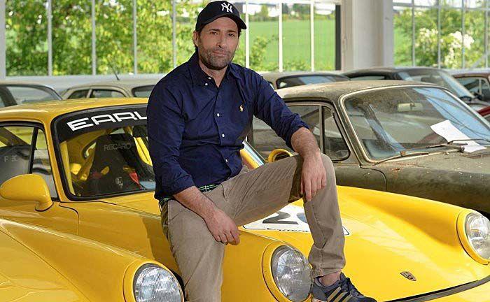 Manfred Hering: Der Gründer und Chef des Restaurationsbetriebes Early 911S hat Dutzende der begehrten Boliden im Angebot. |© Early 911S