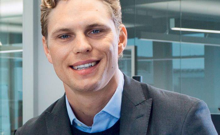 Erik Podzuweit ist einer der Gründer von Scalable Capital. Der digitale Vermögensverwalter peilt laut Branchenbericht demnächst beim verwalteten Vermögen die 500-Millionen-Euro-Grenze an.|© Scalable Capital