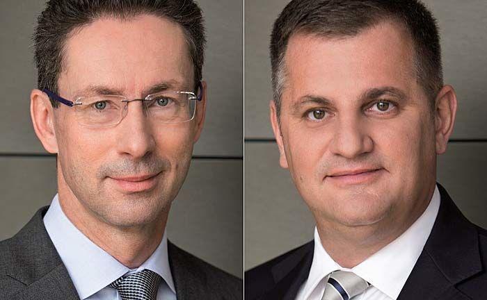 Helmut Hardt (l.) und Eduard Berger: Die Verträge der Vorstände wurden um weitere fünf Jahre verlängert.