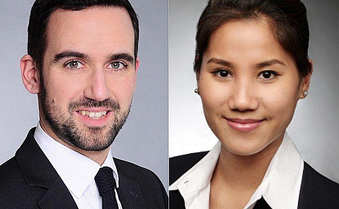 Andreas Detering (l.) und Wannisa Rassamikaew: Beide arbeiten ab sofort im Investmentteam von Lingohr & Partner Asset Management. |© LPAM