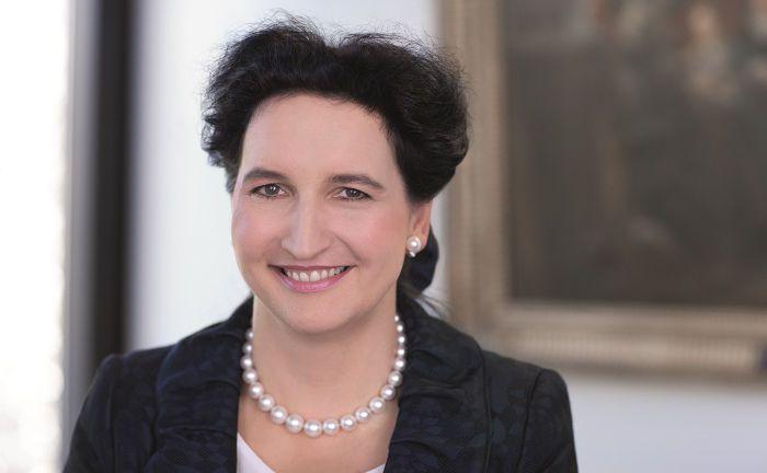 Carola von Schmettow: Die Deutschland-Chefin der Großbank HSBC traut vielen Fintechs nur eine begrenzte Lebensdauer zu.