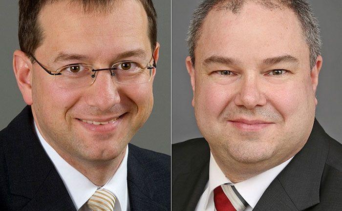 Jürgen Huth (l.) und Martin Dürr: Sind seit 2010 beziehungsweise 2016 für Faros tätig.