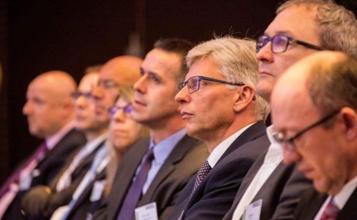 Gäste auf dem private banking kongress. Zur 14. Auflage macht Deutschlands größtes Private-Banking-Forum erstmals Station in Wien.