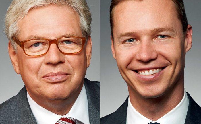 Uwe Hauch (l.) und Maximilian Lauerbach: Hauch scheidet nach 35 Jahren bei ILG aus, Lauerbach übernimmt.  |© ILG Gruppe