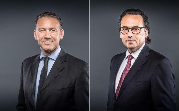 Martin Wolf (l.) und Robert Niemann von Sports Advisory International sind als Berater des Spezial-AIF von Donner & Reuschel tätig.