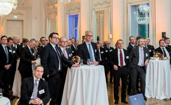 Gäste auf dem Gala-Abend des Elite-Report 2018: Insgesamt vier Instanzen prüften 2017 die Leistung verschiedener Anbieter.
