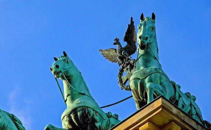 Das Brandenburger Tor in Berlin: Die Hauptstadt der Bundesrepublik ist Performance-Spitzenreiter.|© Pixabay