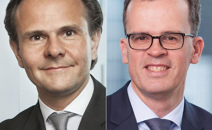 Frank Engels (r.) folgt in der Position des Leiters Portfoliomanagement bei Union Investment auf Björn Jesch.