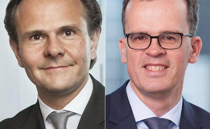 Frank Engels (r.) folgt in der Position des Leiters Portfoliomanagement bei Union Investment auf Björn Jesch.|© Union Investment