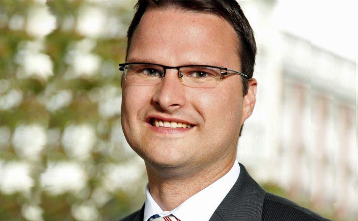 Christian Koch: Der neue Leiter Investmentberatung der Region West ist seit seiner Ausbildung zum Bankkaufmann bei der Deutschen Bank. |© Deutsche Bank