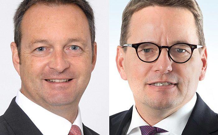 Michael Husung (l.) und Olaf Bruns: Bruns verantwortet das Fonds- und Asset Management der Immobilienprojekte, Husung die Kundenberatung des Bereichs.