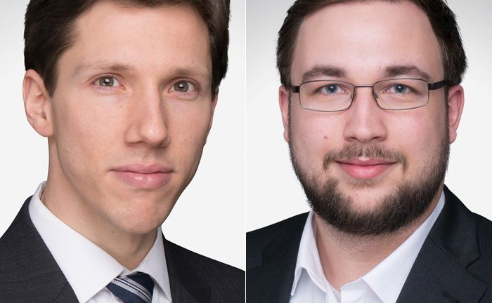 Mit Haymon Sinapius (l.) wechselt ein Single Family Officer zu Honestas. Sean Greenhow leitet ab sofort die digitale Einheit des Hamburger Finanzdienstleistungsinstituts.