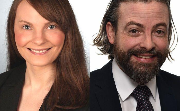 Viktoria Lehr und Bud Willim sind neu an Bord bei der Beratungskanzlei Schomerus in Hamburg.