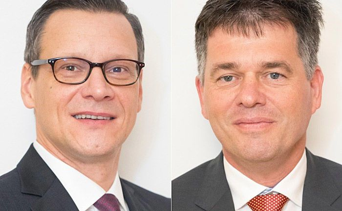 Rico Fritzsche (l.) und Torsten Klein: Beide Neuzugänge waren zuletzt für die Bethmann Bank tätig.