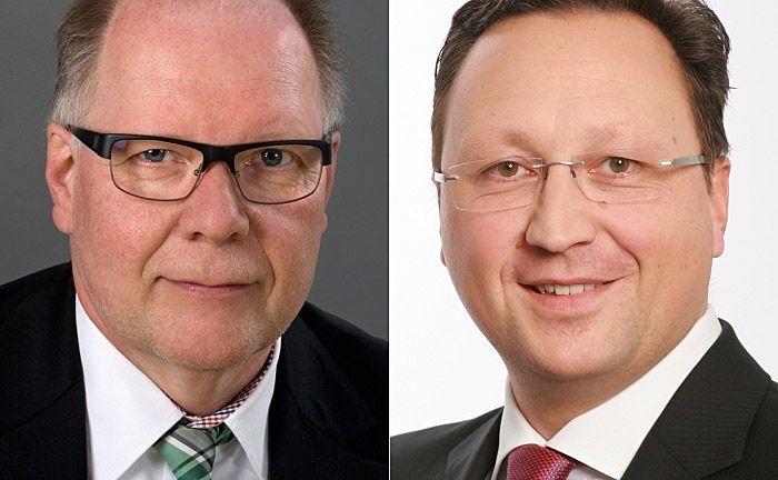 Paul Wessling (l.) sitzt seit Mitte 2017 gemeinsam mit Mark Walddörfer im Vorstand der Müllerei Pensionskasse.