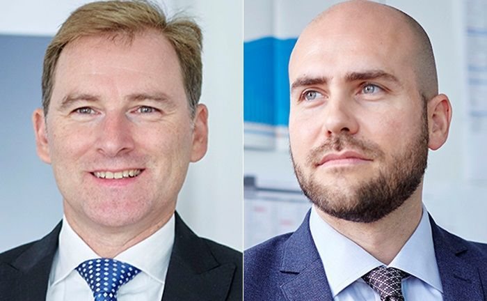 Udo Wedler (l.) und Robert Habatsch sitzen seit Jahresanfang im Vorstand von Greiff Capital Management.