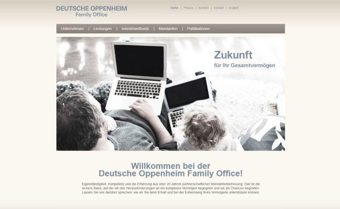 Deutsche Oppenheim Family Office: Für den FOS Rendite und Nachhaltigkeit gibt es künftig ein quartalsweise aktualisiertes ESG-Rating.