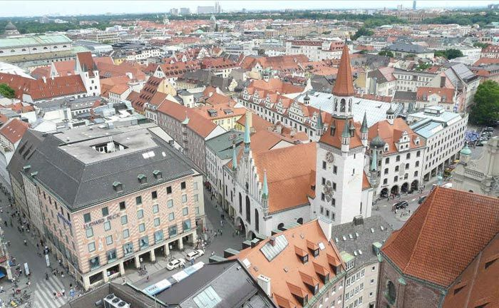 Innenstadt von München: Die Schweizer Headhunter-Firma Schulthess Zimmermann hat die bayrische Landeshauptstadt als Standort für ihre deutsche Gesellschaft gewählt.|© Pixabay