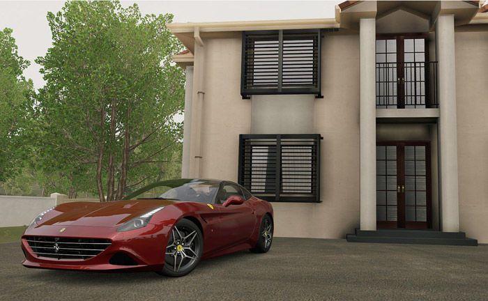 Sportwagen von Ferrari und Villa im Grünen: 45 Deutsche besitzen genauso viel Vermögen wie die Hälfte der Bevölkerung hierzulande.|© Pixabay