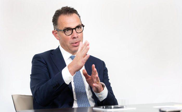 Thomas Rodermann ist Vorstandssprecher der UBS Europe und verantwortet den deutschen und österreichischen Markt.|© Andreas Mann