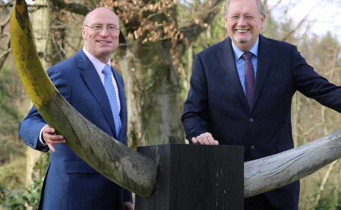 Peter E. Huber (r.) und Manfred Schlumberger: Das Starcapital-Fondsmanagement steht vor einem Führungswechsel.|© Starcapital