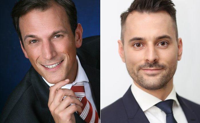 Marcus Merder (l.) und Dominik Norley: Die ehemaligen OLB-Private-Banker gehen zu Finum Private Finance.