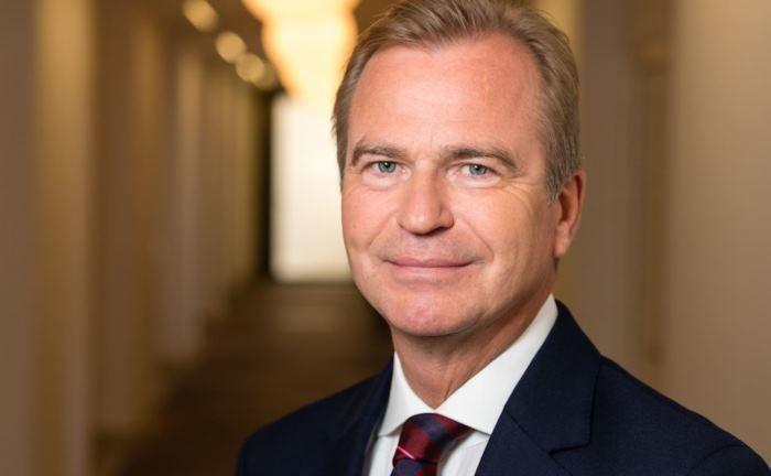Jens Hagemann: Der Vorstandssprecher verfolgt auch bei der Cost-Income-Ratio ambitionierte Ziele. |© V-Bank