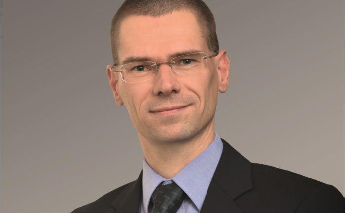 Lutz Röhmeyer: Der Fondsmanager der LBB-Invest gibt die Verantwortung für den Weltzins-Invest ab.