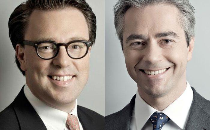 Astorius-Mitgründer Thomas Weinmann (r.) und der für die Vermarktung verantwortliche Partner Julien Zornig: Neben der Auflegung von Dachfonds berät Astorius Family Offices auch bei deren sonstigen Private-Equity-Investments.