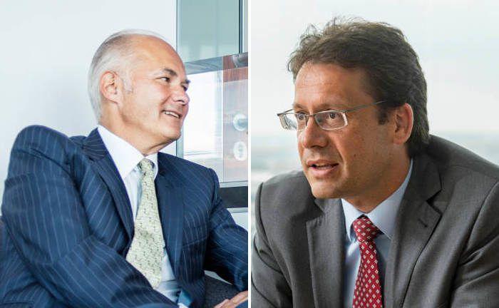Wollen Anlegern den ersten Schritt ermöglichen: Mitgründer und Vorstandsmitglied Kurt von Storch (links) und Portfoliomanager Elmar Peters, beide Flossbach von Storch|© FvS/Jürgen Bindrin