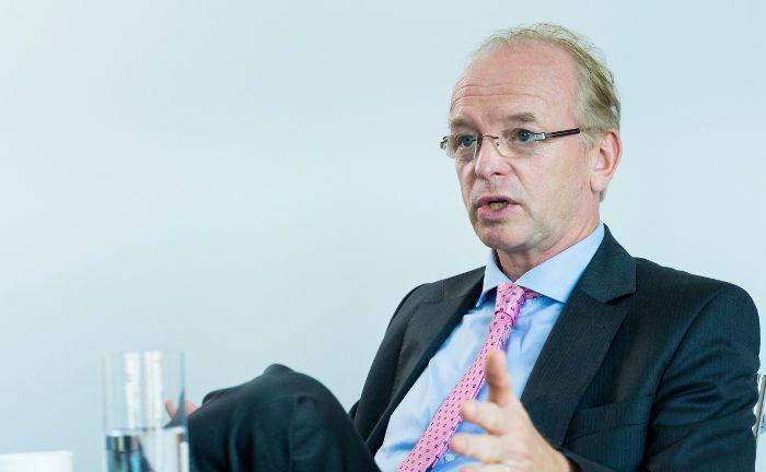 Frank W. Straatmann ist Vorstand beim Investmenthaus Feri.|© Lutz Sternstein