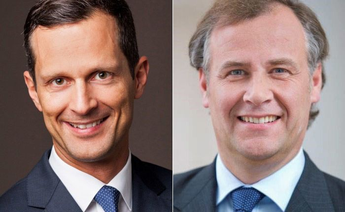 Daniel Dalter (l.) und Bernd-Christian Balz: Balz wird Dalter zusätzlich zu seinen weiteren Aufgaben als stellvertretender Regionsleiter zur Seite stehen.|© Deutsche Bank