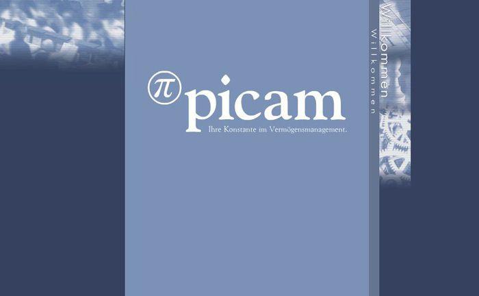 Website-Ausschnitt der Picam-Gruppe: Staatsanwaltschaft und Polizeit ermitteln wegen des Vorwurfs Anlagebetrug gegen das Berliner Unternehmen.|© Picam