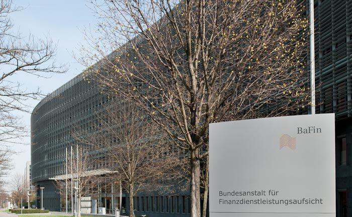 Sitz der Finanzaufsicht Bafin in Frankfurt am Main: Auf Antrag der Behörde hat das Amtsgericht Augsburg einen vorläufigen Insolvenzverwalter für den Finanzdienstleister Varian Defensive Capital.