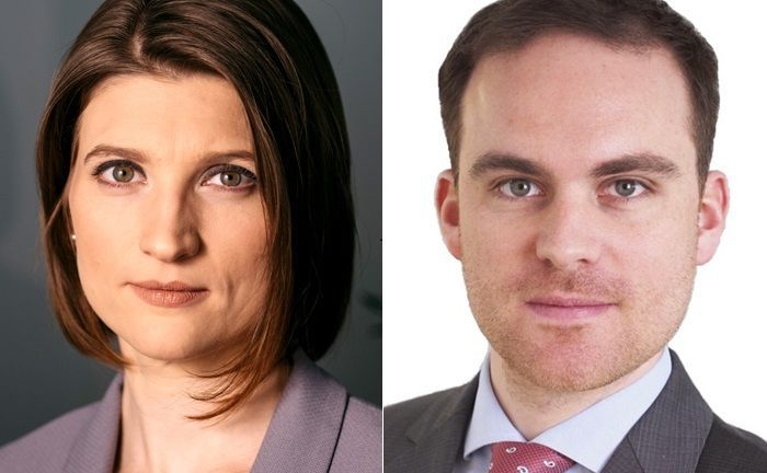 Christin Bahr und David Schrottenbaum haben sich dem Portfoliomanagement der Bank Gutmann angeschlossen.|© Pertramer, privat