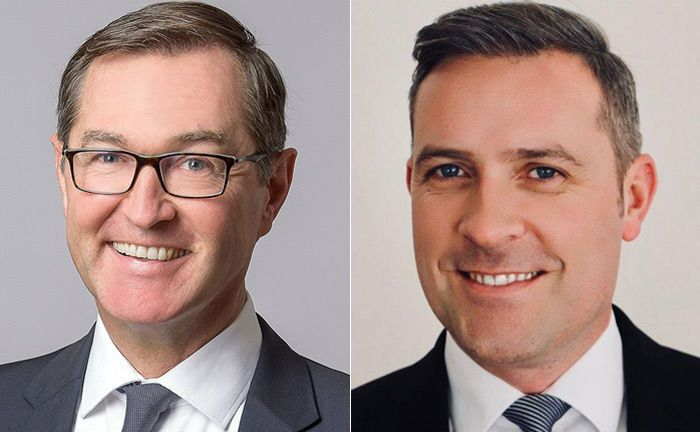 Norwin Schörrig (l.) und Christof Gunia sollen für die Schweizer Expersoft Systems das Geschäft mit Vermögensverwaltern und Banken in Deutschland ausbauen.|© Expersoft Systems