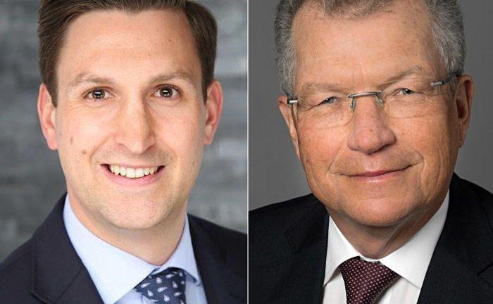 Die beiden Neueinstellungen bei Accessio Kapital: Matthias Reinhardt (l.) und Helmut Karst.