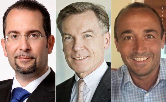 Teodora Cocca (l.), Wolfgang Reittinger (Mitte) und Armin Lauer: Die drei Branchenkenner haben in einem Buch das Thema Digitalisierung im Private Banking beleuchtet.