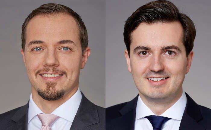 Neu bei UBS Asset Management: Jan Schneider (l.) und Henning Kahre|© UBS AM