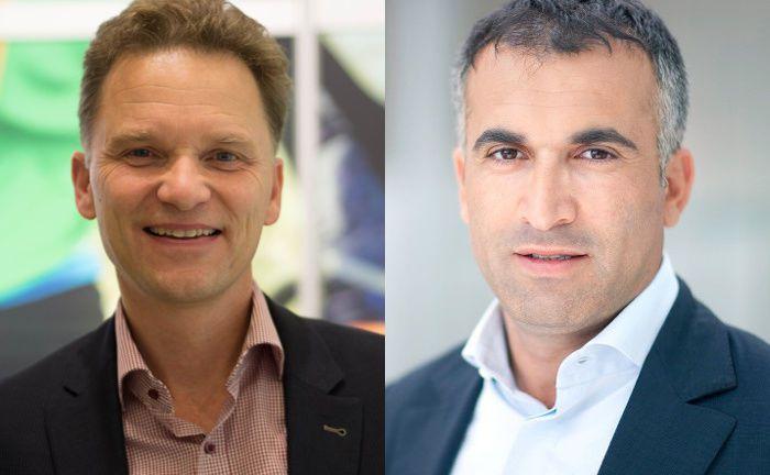 Baki Irmak (rechts) und Stefan Waldhauser: Das Duo bringt den Aktienfonds The Digital Leaders Fund auf den Markt.|© Baki Irmak, Stefan Waldhauser