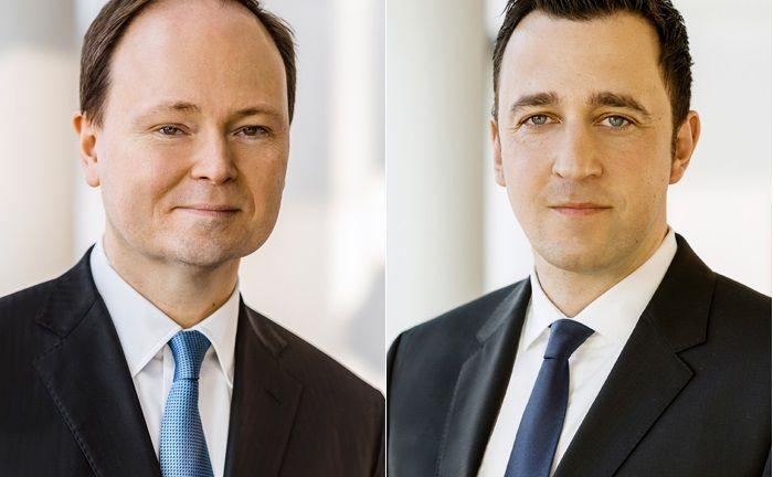 Marc-Alexander Knieß (links) und Stefan Schauer managen den Lupus Alpha Sustainable Convertible Bonds Foto: Lupus Alpha|© Lupus Alpha