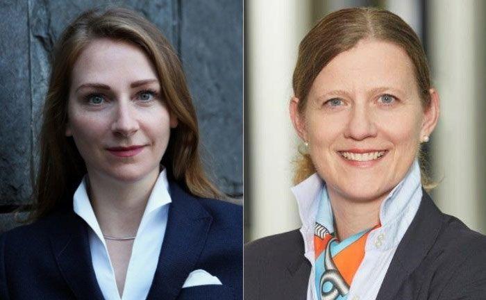 Maren Gräfe (l.) und Susanne Thonemann-Micker von der Wirtschaftsprüfungsgesellschaft PWC.