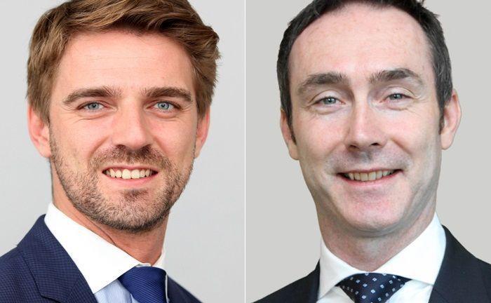 Aymeric François (links) und Maik Fechner betreuen seit 2015 für Investec den deutschen Markt.