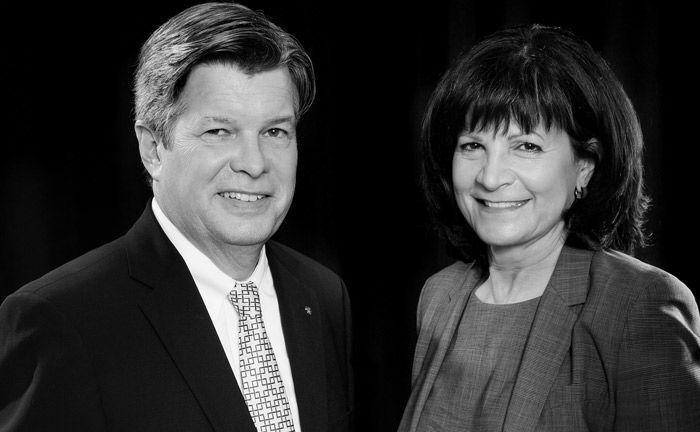 Michael und Anna Maria Fischer: Die Eheleute bilden die Geschäftsführung des unabhängigen Vermögensverwalters Dialog Vermögensmanagement in Stuttgart.