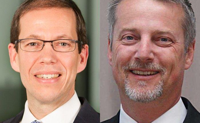 Siegfried Volkmar (links) und Markus Novak verstärken das Vertriebsteam von Alliance Bernstein (AB).|© AB